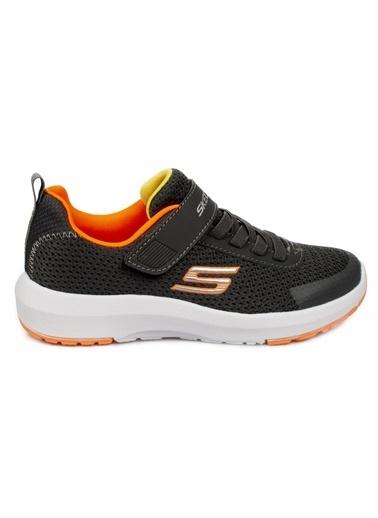 Skechers Unisex Çocuk Gri Dynamıc Tread Spor Ayakkabı 98151L-CCOR-28 Gri